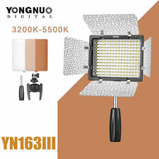 Yongnuo YN-160III Adjustable Temperature 3200-5500K LED Video Light for Cameras