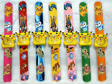 12Pcs Pikachu Children's Cartoon Clap watch Digital watches Party Gifts I-65