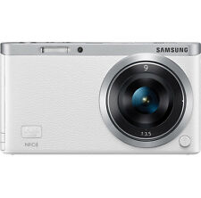 Samsung NX Mini Smart Camera with 9mm Lens White + SD Card