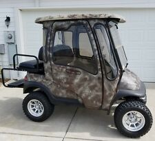 08 Club Car Precedent Golf Cart Camo w/ Curtis Hard Cab System