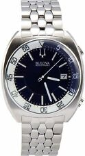 Bulova 96B209 Mens BA11 Silver Steel Bracelet Watch
