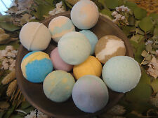 Huge 3 oz Bath Bomb Fizzy Fizzies...Lot of 12 You pick Scents Lush & Luxurious