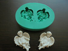 Silicone Mould ANGELS MIRRORED Sugarcraft Cake Decorating Fondant / fimo mold