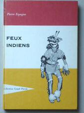 FEUX INDIENS Gedalge 1960 Peaux-Rouges Quetzalcoatl Chaman Aztèque P. ESPAGNE