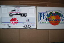 Peachstate Motor Sports Mac Tools Harry Gant Diecast Drop Bed Trailer Truck