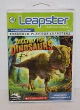 Leapfrog Leapster Learning Game Digging For Dinosaurs K-2nd Grade 5-8 Years
