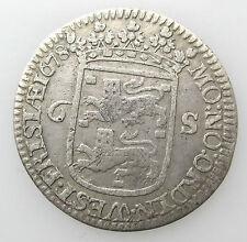 Nederland Enkhuizen 6 Stuiver 1678 Scheepjesschelling West Friesland