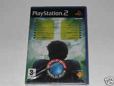 WORLD QUIZ for PLAYSTATION 2 'VERY RARE & HARD TO FIND'