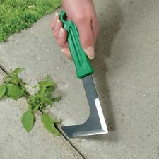 edger lawn landscaping grass crack weed puller tool cutting blade manual trimmer