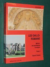 Les Gallo-Romains G. COULON T.2 Métiers vie quotidienne et religion