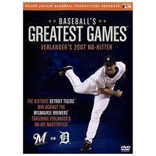 MLB: Baseball's Greatest Games - Verlander's 2007 No-Hitter New DVD SEALED.