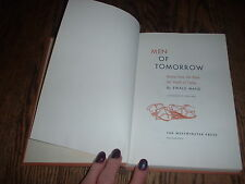 Men of Tomorrow by Ewald Mand (1958, hardcover)