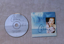 "CÉLINE DION ""BECAUSE YOU LOVED ME (THEME FROM ""UP CLOSE & PERSONAL)"" CDS 1996 2T"