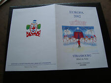 FRANCE - document sans timbre 2/3/2002 le cirque (europa) (cy47) french (A)