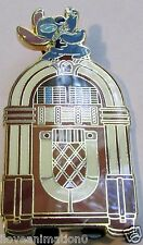 Disney Auctions Stitch on Jukebox with Card LE Pin **