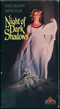 NIGHT OF DARK SHADOWS - Original 1990 MGM VHS Starring David Selby, Kate Jackson