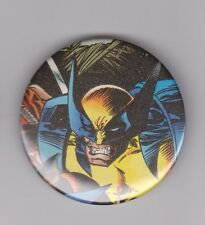 """Marvel's Wolverine Pin Back 2 1/4"""" Button #2"""