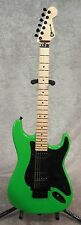 Charvel So-Cal Style 1 HH electric guitar in Slime Green finish