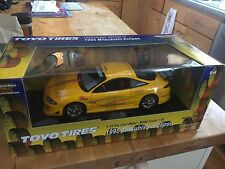 "RARE Ertl American Muscle 1995 MITSUBISHI ECLIPSE ""TOYO TIRES"" 1:18 Street Tuner"