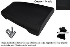 BLACK STITCH CUSTOM FITS DUCATI 888 REAR LEATHER SEAT COVER