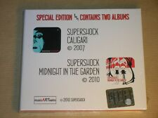 RARE BOITIER 2 CD/ SUPERSHOCK / CALIGARI 2007 +MIDNIGHT IN THE GARDEN 2010 /NEUF