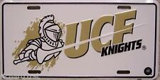 NCAA Aluminum License Plate Central Florida Golden Knights NEW