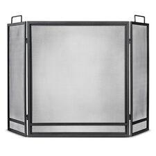 Threshold™ Fireplace Screen - Matte Black Finish