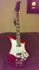 Eko 700 Electric Guitar, Red sparkle, vintage look, still has tags on it!!! New!