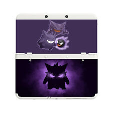 Custom Printed Pokemon Gengar New Nintendo 3DS Faceplate Pair Cover Plates