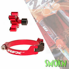 RFX Pro Series Start Kontrolle MX Loch Schuss Gerät Suzuki RM 125 250 02-09 Rot