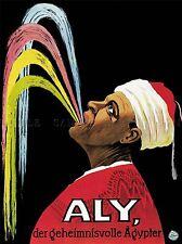 Teatral disgorger Aly misterioso Egipcio Alemania Art Poster Print lv3956