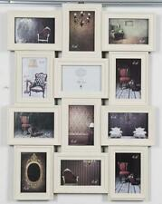 Cream  12 Picture Wall Collage Multi Photo Frame