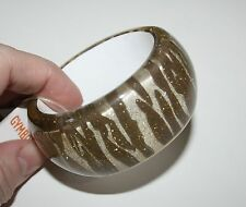 New Gymboree Zebra Glitter Bangle Bracelet NWT Zebra Safari Line
