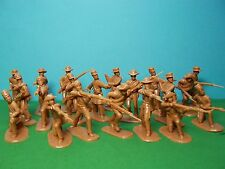 Armies in Plastic 1/32 scale Confederate Infantry x20 (butternut)