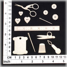 Chipboard Embellishments for Scrapbooking, Cardmaking - Sewing 11193w