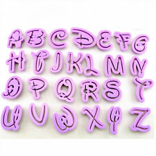 Alphabet Letter Cookies Embosser Cutters Cake Decorating Fondant Sugarcraft Tool