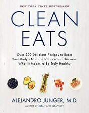 Alejandro Junger - Clean Eats (2014) - New - Trade Cloth (Hardcover)