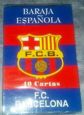 Baraja Española del F.C Barcelona_40 Cartas_New Sealed