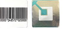 Checkpoint compatible RF 8.2 Mhz 40x40 Lables, Fake Barcode, 1,000 Labels