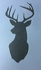 Stag Deer Rendeer head  A4 Mylar Reusable Stencil Airbrush Painting Art Craft