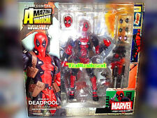 Kaiyodo Revoltech X Marvel Deadpool Merc with a Mouth Action Figure [In Stock]
