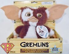 "GIZMO Gremlins Movie 6"" inch Singing Dancing Plush Doll with Sound Neca 2014"