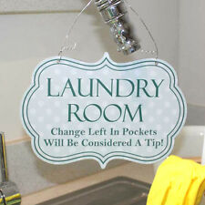Signo de lavado, lavado estilo vintage signo de habitación, cartel de cocina, sala de lavandería signo.