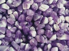 Amethyst crystal chevron amethyst tumble polished 1/2 pound lots