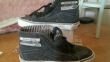vans off the wall skate board shoe us 7.5