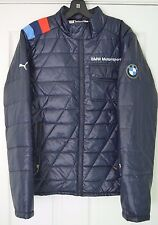 Brand New! Puma BMW Motorsport Lightweight Jacket szS Small puffer 567102-01