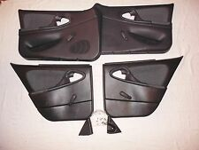 95-05 Chevy CAVALIER DOOR PANELS 4 Door w/ All Door Trim Graphite Gray Nice !!!
