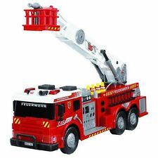 "Fire Trucks For Kids Large Big 24"" Toy Vehicle Lights Sound Brigade Water Pump"