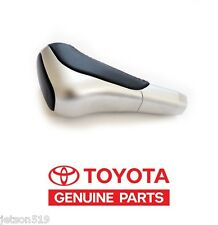 TOYOTA TUNDRA SEQUOIA 12-14 2014 GENUINE OEM TRD LEATHER/ALUMINUM SHIFT KNOB