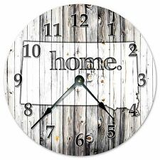 "SOUTH DAKOTA RUSTIC HOME STATE CLOCK - Large 10.5"" Wall Clock - 2251"